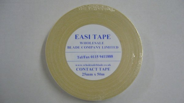 25mm Double Sided Contact Tape