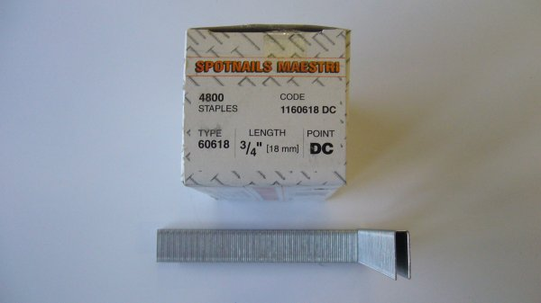Spotnails Maestri 606/18MM Staples (4,800 Per Box)