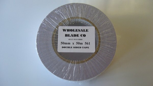 Double Sided Tape Vinyl (10 Rolls Per Box)