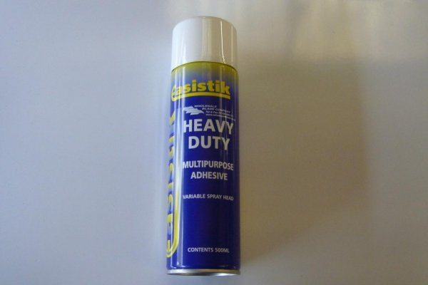 Heavy Duty Spray Glue For Underlay 500ml Easi-Stik/Floortac