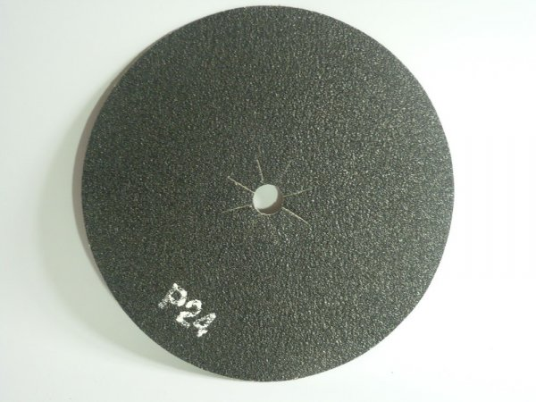 "16"" Sanding Discs Double Sided P24 Grit - Rough"