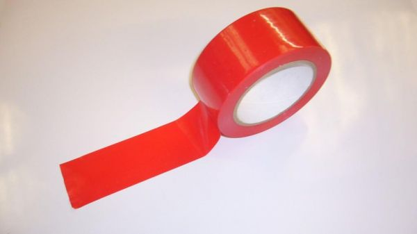 Sticky Floor Marking Tape - Red