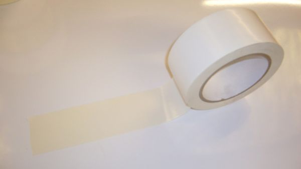 Sticky Floor Marking Tape - White