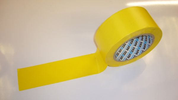 Sticky Floor Marking Tape - Yellow