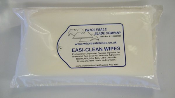 Easi-Clean Wipes (12 Bags Per Box)