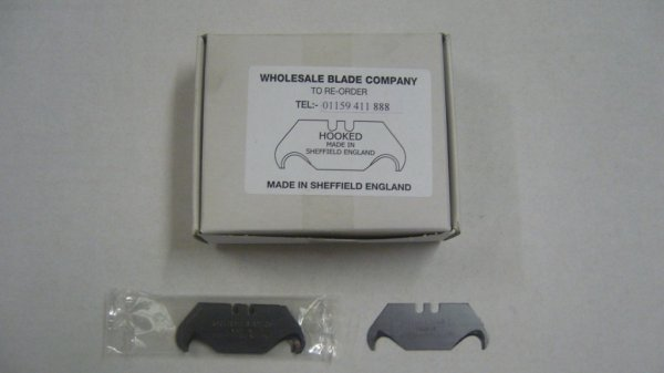 Standard Hook Knife Blades (100 Per Box)